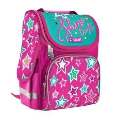 Рюкзак каркасный Smart PG-11 Shine Bright розовый бирюзовый 557073
