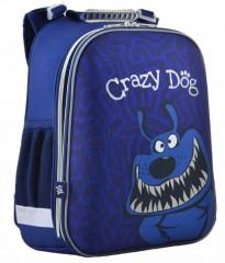 Ранец ортопедический каркасный YES Crazy dog H-12,  554621