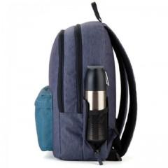 Рюкзак GoPack Сity 140-1 сірий, бірюзовий