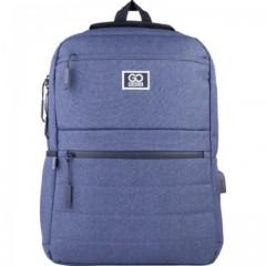 Рюкзак GoPack Сity 167-3 синій