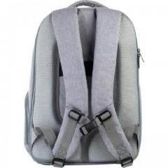 Рюкзак GoPack Сity 169-1 сірий, рожевий
