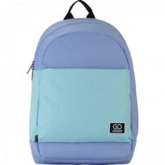 Рюкзак GoPack Сity 173-2 блакитний, бірюзовий